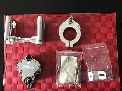 Yamaha WR250 F and WR450 F motorcycle steering damper MSC WR250F WR450F dirt