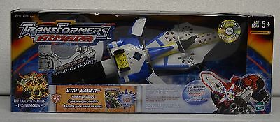 Transformers Armada Star Saber - Includes Comic And Cd With Armada Episode (Mib)