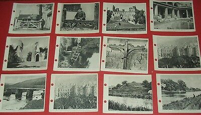 12 Saronley Cigarette Cards Links With The Past