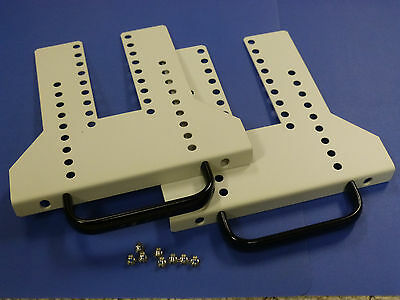 Front Rack Mount Kit for National Instuments PXI / PXIe Chassis
