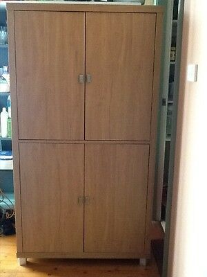 Four door office cabinet