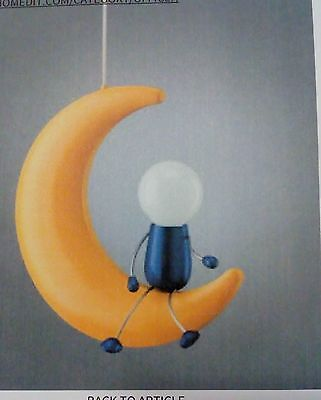 Man On The Moon Novelty Ceiling Light  - Philips