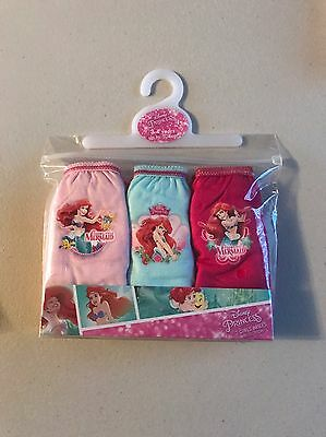 Girls Disney Little Mermaid Pants Age 3/4