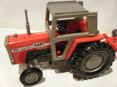 Britains Massey Ferguson 595 Tractor with Plough 1/32