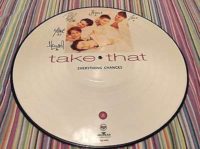 Take That Everything Changes Album Vinyl Picture Disc