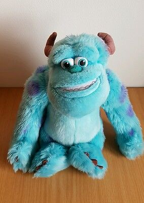 Disney Store Exclusive Monsters Inc University SULLEY Sully Soft Plush Toy 14""