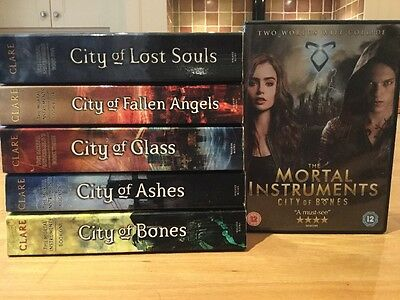 The Mortal Instruments Books And DVD Set