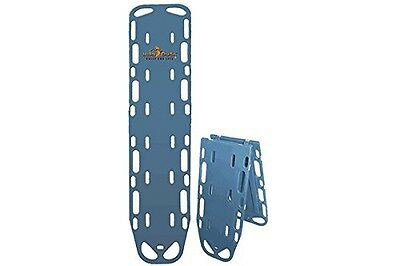 Iron Duck 35940-Blue Ultra Space Save Folding Spinal Immobilization Backboard