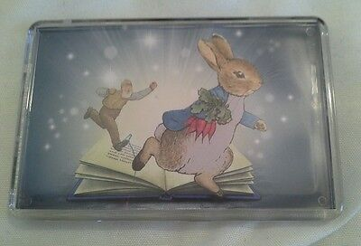 Peter Rabbit   Beatrix Potter   Fridge Magnet