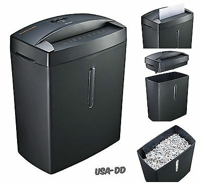 Micro Cut Paper Shredder Doc Shred Thermal Protection Heavy Duty Office Home