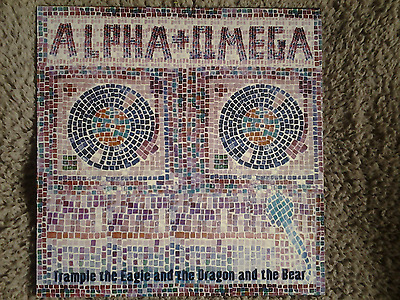 ALPHA & OMEGA trample the eagle LP 2005 CLASSIC!!! Reggae Dub Roots