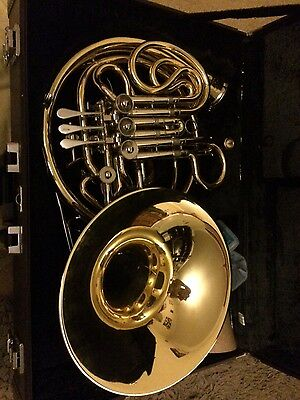 yamaha yhr668d french horn professional double with extras