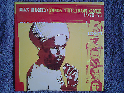 Max Romeo Open The Iron Gate LP Blood and Fire CLASSIC!!! Reggae Dub Roots