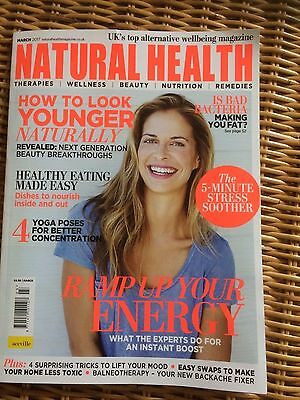 Natural Health Magazine MARCH 2017 RRP £4.99