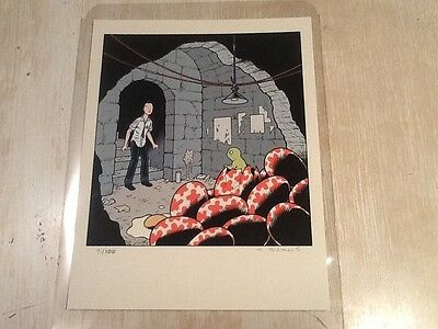 Charles Burns Giclée Print....rare Only 100 Ex Signed Numbered