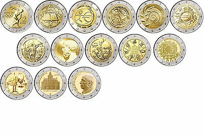 Special coins Greece off 2004 all Years - free selectable - mint state