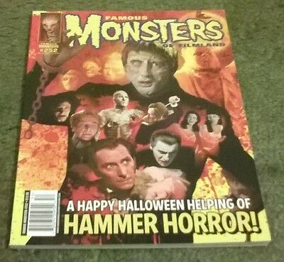 famous monsters of filmland #252,oct 2010,new condition,bagged & boarded