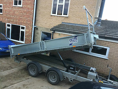 2016 Ifor Williams 12Ft X 6 Ft Electric Tipping Trailer Nearly New