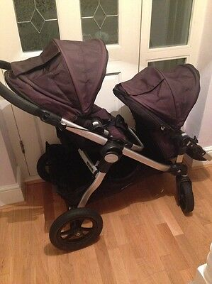 Baby Jogger City Select Black Double Buggy/Pram