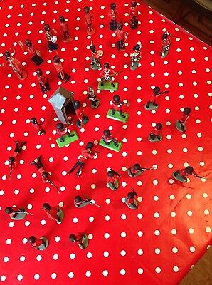 Britains vintage toy soldiers assort. queens guards