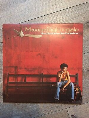 Maxine Nightingale - Right Back Where We Started From Lp