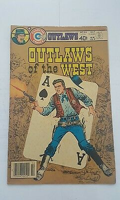 outlaws of the west # 84 charlton
