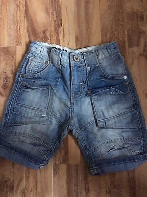 Excellent Condition Boys Distressed Affect Shorts Age 6