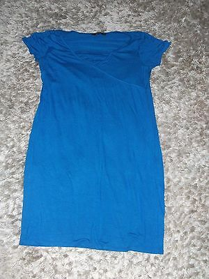 size 12 blue Maternity Dress  from George