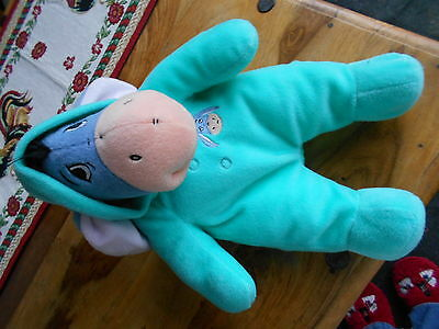 """Disney Large approx 15"""" Eeyore ,hood ,soft toy with . so cute"""