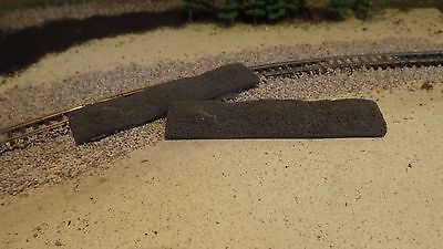 N-Scale 2pc. Fine Coal Freight Car Load /1:160 Detail Parts