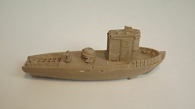 N-Scale Unfinished Waterline  Tow Boat 1:160 Model Train Detail Accessories