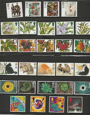 Collection Of British  Stamps From 1993 And 1995