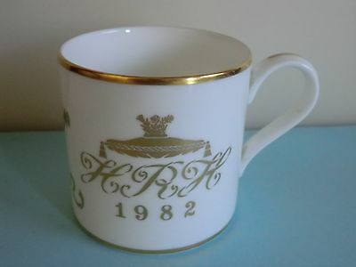 Princess Diana Prince Charles & Prince William Birth Mug - 1982 Wedgewood