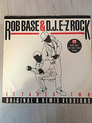 Rob Base & DJ E-Z Rock - It Takes Two (Original And Remix Versions) Vinyl, 12""