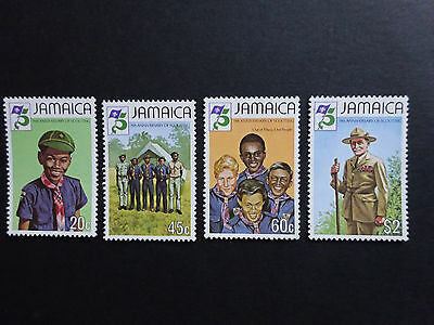JAMAICA:1982 Boy Scout Movement  set  SG 546-9 MNH