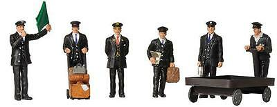 BACHMANN SCENECRAFT 36-404 1:76 OO SCALE Station Staff 1940 & 50s  Pack of 6