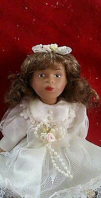 "6"" Haunted porcelain doll"