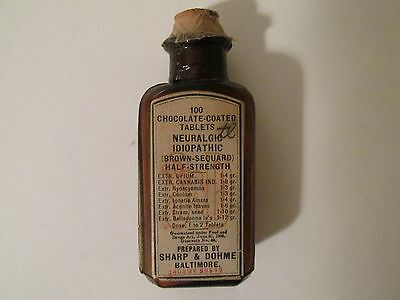 Cannabis Bottle, Pre-1937, Cannabis, Marijuana, Original, Label, Drugs, Opium