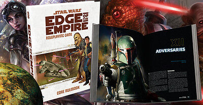 Star Wars Edge of Empire RPG Core Rulebook