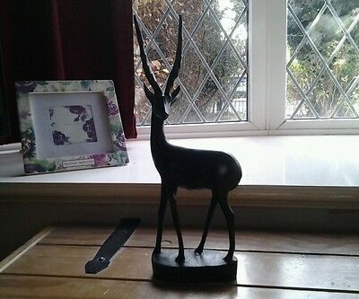Beautiful, ANTELOPE....WOODEN...GOOD CONDITION.