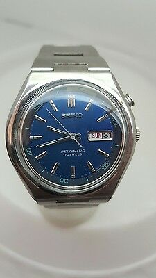 Vintage seiko bell matic alarm  gents mens automatic watch