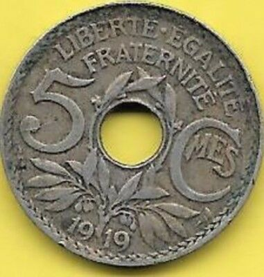 5 Centimes 1919