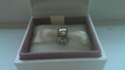 Genuine Pandora Silver Ghost Charm Comes With Box