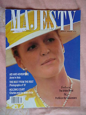 1988 Majesty Magazine - Vol 8 No.9 Princess Diana & Royal Family (GB & World)