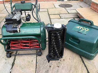 Atco Balmoral 17SE Self Propelled Roller Serviced & Mint Condition. Petrol Mower