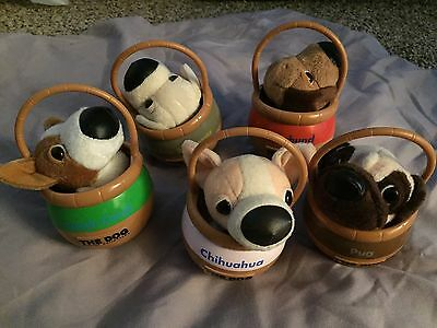 the dog artlist collection - Dog Stuffed Animals in Baskets