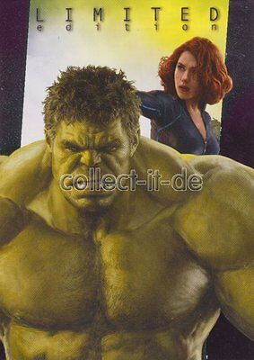 Panini Marvel Heroes Trading Card 2017-Black Widow und Hulk - Limited Edition