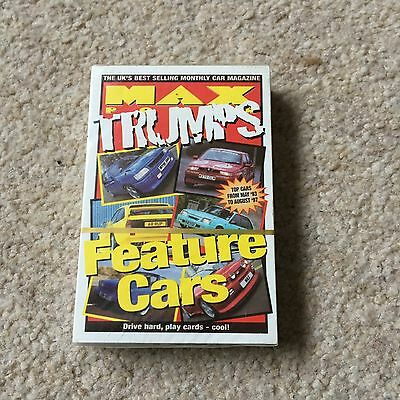Trumps Style Game - Max Trumps Feature Cars