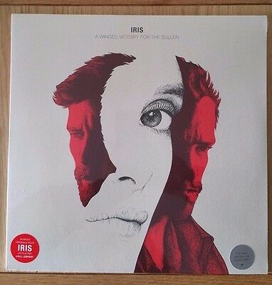 BRAND NEW SEALED A Winged Victory for the Sullen - Iris LP (clear vinyl) 2017