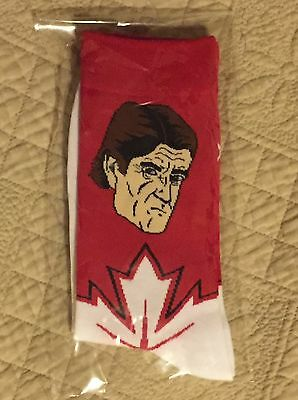 2016 Team Canada World Cup Hockey BABSOCKS Mike Babcock NHL Maple Leafs NEW
